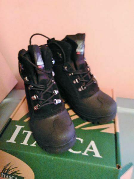 NWT ITASCA WOMEN'S OR MEN'S SUEDE LEATHER THINSULATE WINTER BOOTS LINED LACE UP