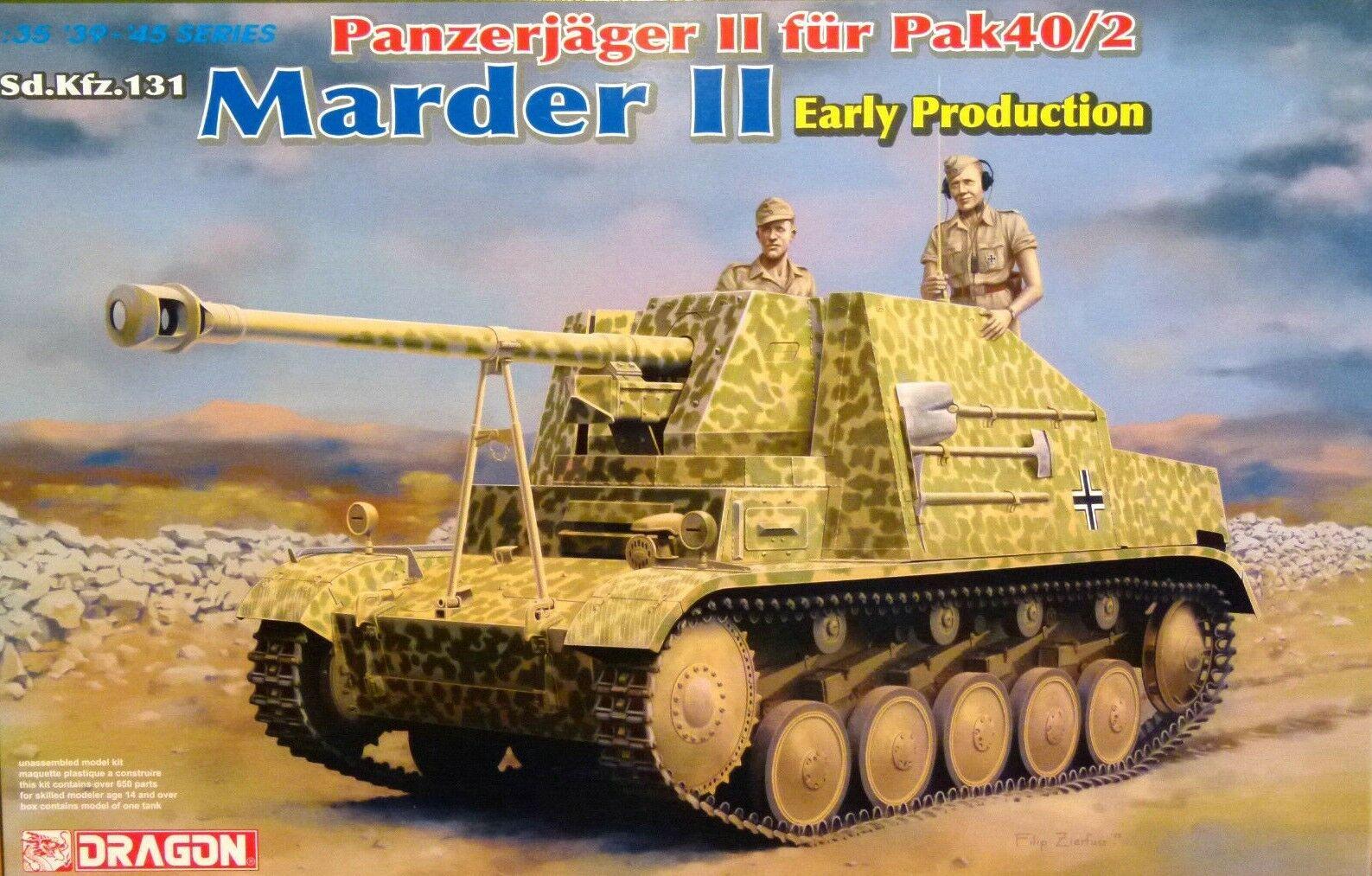 Dragon 1 35 Sd.Kfz.131 Marder II Early Production German Tank Model Kit