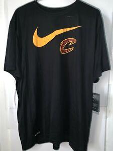 Mal Problema sutil  Tênis Masculino Nike a Camiseta Nike Dri-Fit Nba Cleveland Cavaliers Preta,  Tamanho 2XL | eBay