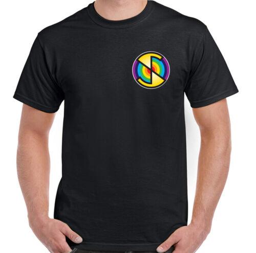 Spectrum Mens Unisex Top Mysterons Thunderbirds Puppet Captain Scarlet T-Shirt