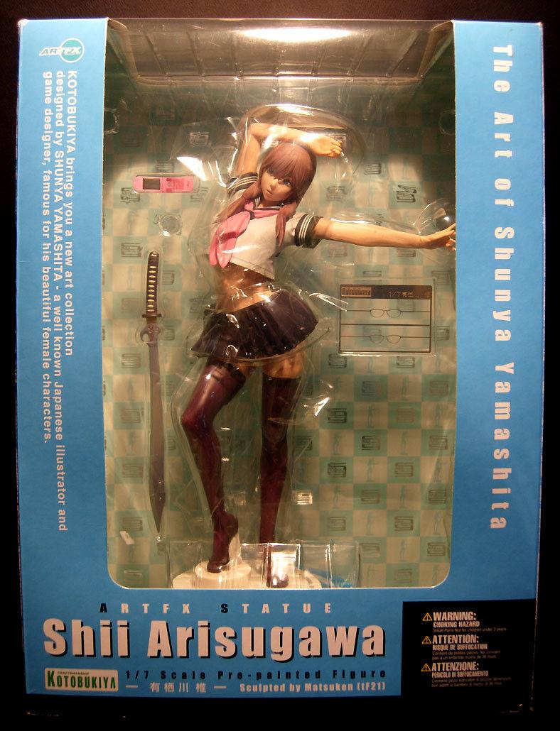 Kotobukiya ARTFX  - The Art of Shunya Yamashita - Shii Arisugawa - PVC - USED