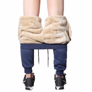 Drawstring-Sweatpant-Men-Trouser-Fashion-Heavyweight-Male-Winter-Warm-Plush-Pant