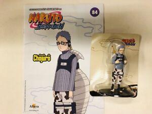 naruto shippuden chojuro figurine altaya neuf + fascicule