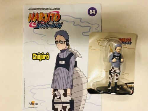 fascicule naruto shippuden chojuro figurine altaya neuf