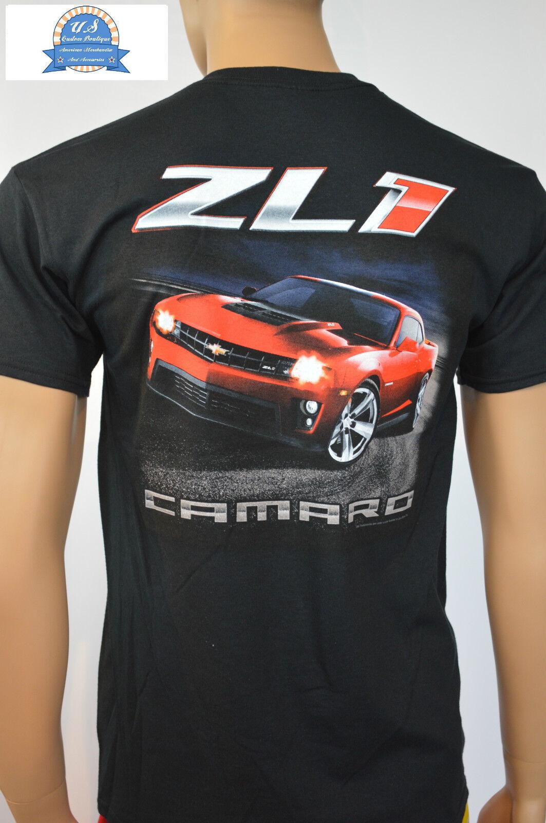 Chevrolet Camaro T-Shirt - Camaro ZL1 - Schwarz - lizensiert  | Schönes Aussehen  | Optimaler Preis  | Billiger als der Preis
