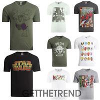 Genuine Mens Marvel Avengers Star Wars Super Heroes T Shirts S M L XL Adults
