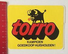 Aufkleber/Sticker: Torro - Kampioen Goedkoop Huishouden (10061675)