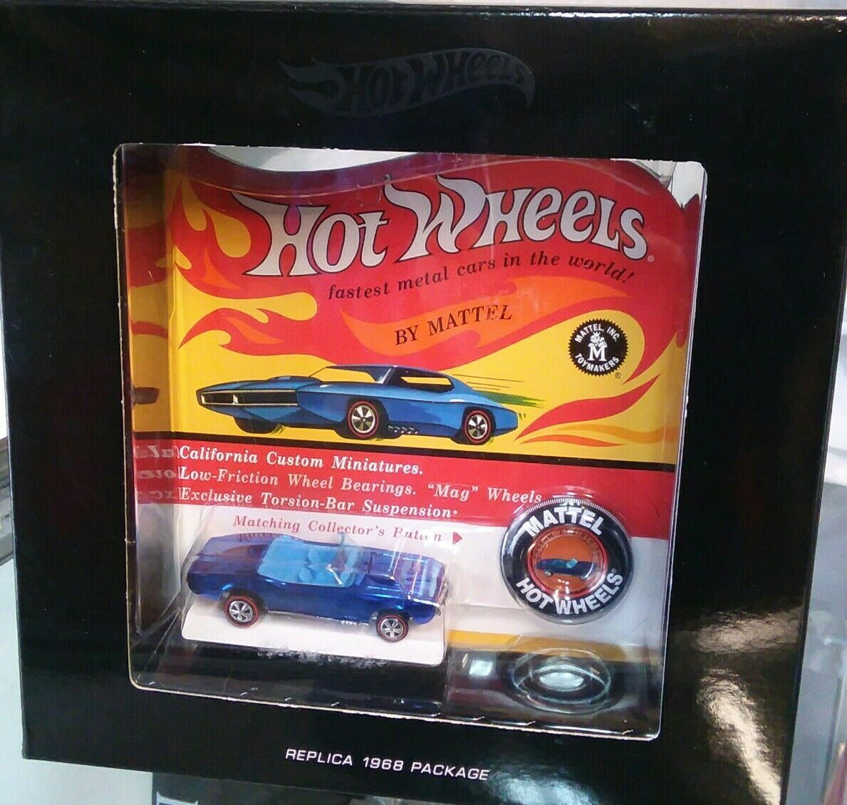 Hot Wheels RLC 2017 Original 16 Redline custom '67 firebird 3933 6000 sealed