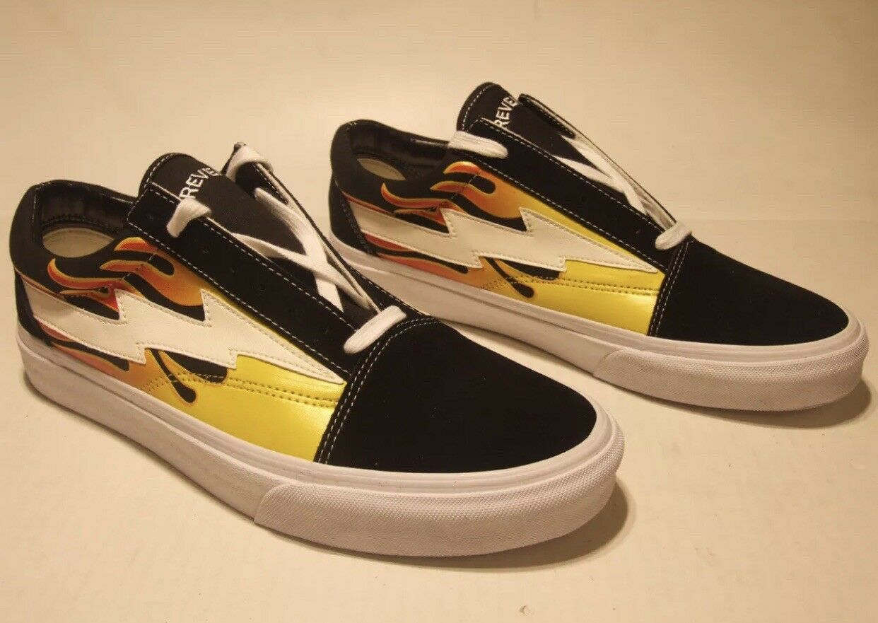 New REVENGE x STORM Low Sneaker IAN CONNOR  with Carry Bag --US Seller--