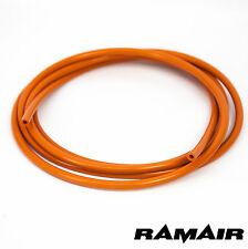 RAMAIR 4mm x 3m Orange Silicone Vacuum Boost Hose - ROPE COVERING SLEEVE
