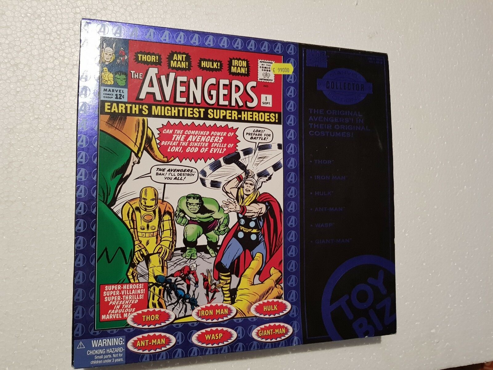 Action Figure Marvel Collector Edition Marvel Avengers