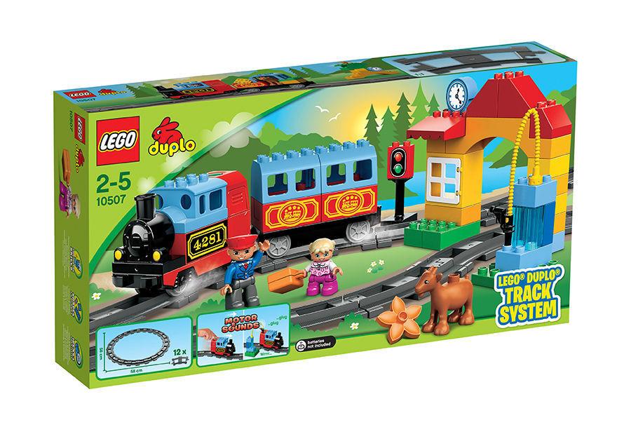 10507 günstig kaufen LEGO Duplo Eisenbahn Starter Set