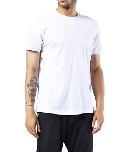 meet c47c6 3275c Diesel T-Jam Herren T-Shirt Rundhals Kurzarm Weiß | eBay