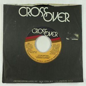 70s Soul 45 - Darrow Fletcher - It's No Mistake - Crossover - VG++ mp3