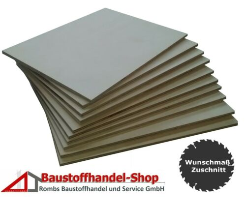 Multiplexlatten Holz Sperrholzplatten 3 4 5 6 8 mm ab10,99€//m² Birke Sperrholz