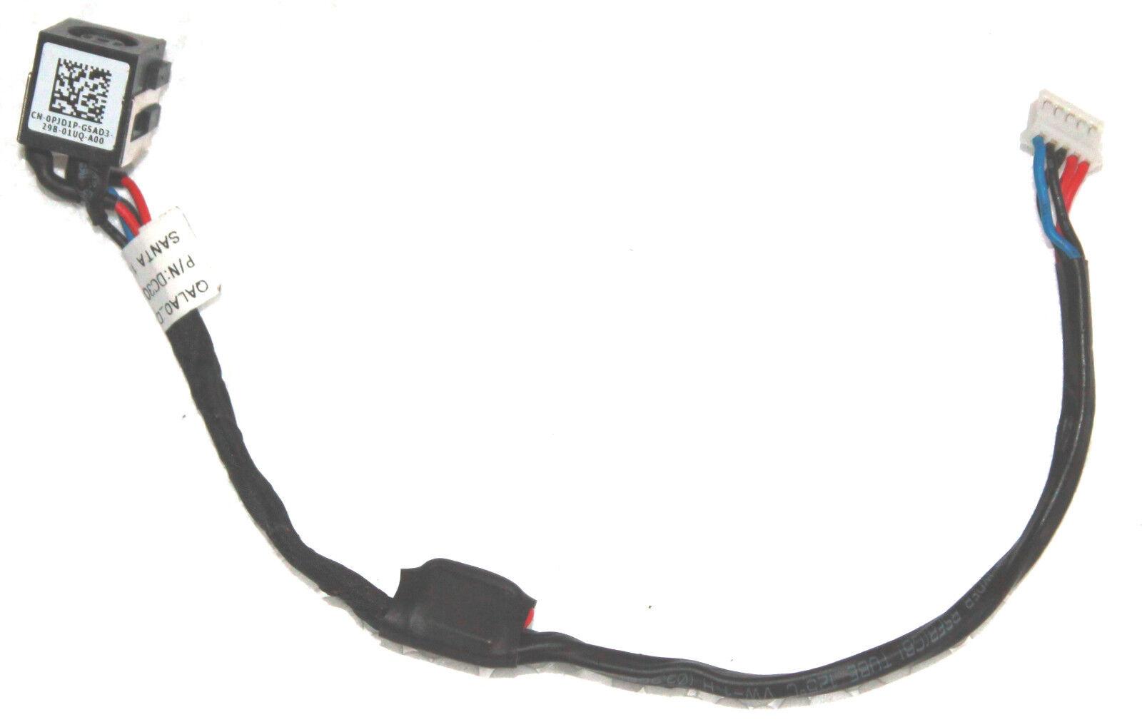 OEM Dell Latitude E6530 DC Power Input Jack Plug /& Five Pin Cable DC30100HH00