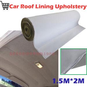 1 5mx 2m Car Roof Lining Headliner Repair Upholstery Foam