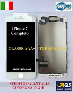 DISPLAY-LCD-Touch-Screen-TIANMA-iPhone-7-COMPLETO-Fotocamera-Cassa-Frame-BIANCO