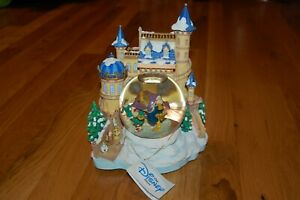 Details About Nwt Rare Disney S Beauty And The Beast Snow Globe