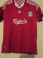 Liverpool 2008-2010 Home Football Shirt Size Small camiseta mallot /39813