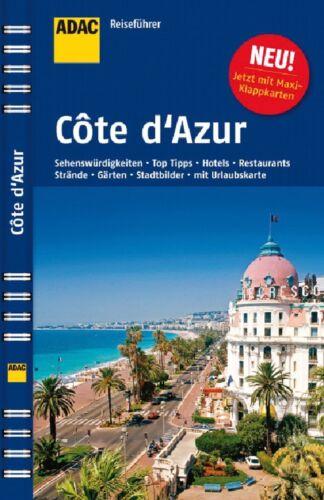 1 von 1 - ADAC Reiseführer Cote d'Azur von Hans Gercke (2013, Ringbuch)