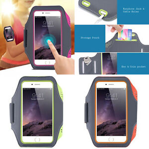 Universal Breathable Sports Armband Arm Band Mobile Phone Holder Strap 5-6.5''