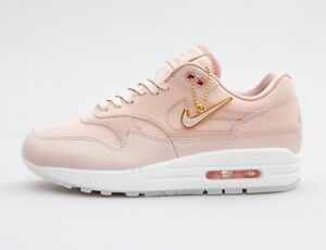 wholesale dealer 7a053 39c11 Image is loading Women-s-Nike-Air-Max-1-PRM-Trainer-