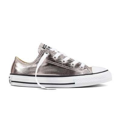 Converse All Star Low Youth Rose Quartz Metallic UK 11 EU 28.5 CH06 20