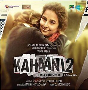 KAHAANI 2: DURGA RANI SINGH & OTHER HITS (2016) - BOLLYWOOD HINDI AUDIO CD