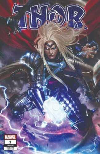 Thor #1 2020 Derrick Chew Cosmic Comics variant