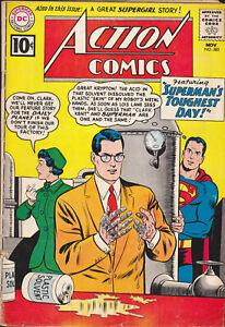 ACTION-COMICS-282-SUPERMAN-GD-GD-NOV-1961-SILVER-AGE-DC