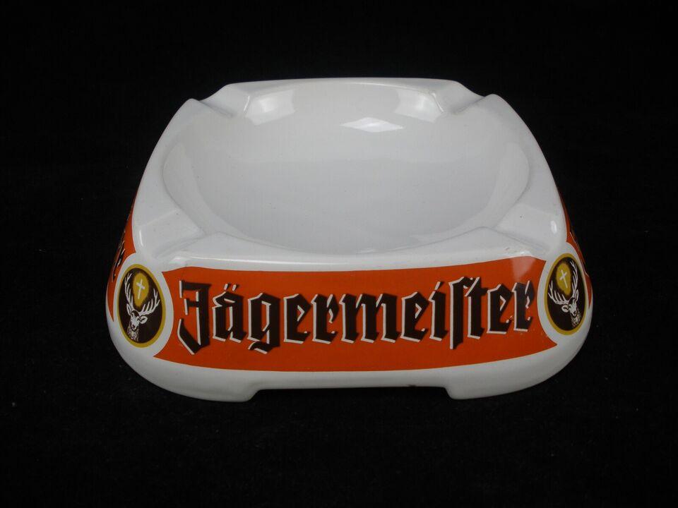 Porcelæn, Jägermeister Reklameaskebæger Fra 1970'erne