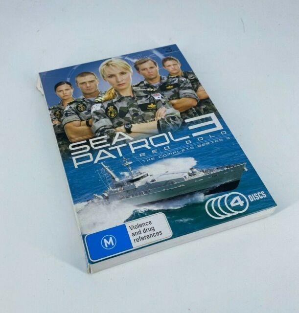 SEA PATROL: Season 3 - 4 DVD Set - REGION 4 - R4 - WARRANTY