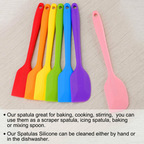 Details about  /Silicone Spatula Heat Resistant Non Stick for Kitchen Cooking Baking