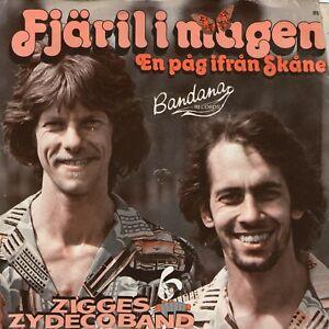 SINGLE-1980-ZIGGES-ZYDECO-BAND-FJARILI-MAGEN-7inch