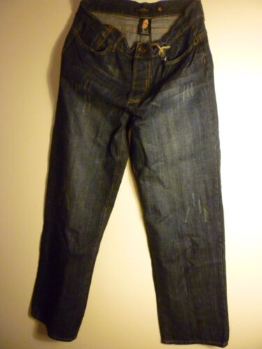 Ed Hardy Mens Jeans NWT Skeleton Button Fly $175 34 36 42 38 40