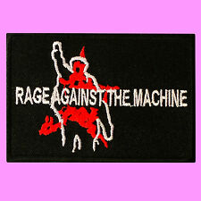 Rage Against The Machine Rap Metal Funk Rock Music Embroidered Iron On Patch
