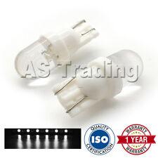 2x Bianco w5w 501 Luce Laterale Targa Interno CUPOLA Ripetitore lampadine a LED