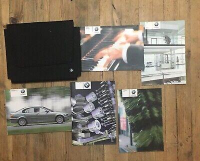 02-05 Bmw 3 Series E46 Manuale Del Proprietario Manuale Pack E Portafoglio Stampa 2004-