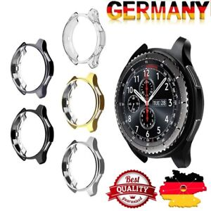 For-Samsung-Gear-S3-Frontier-Slim-Electroplated-TPU-Watch-Case-Cover-Nue