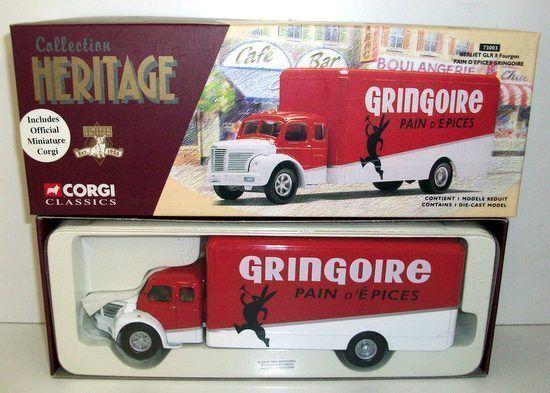 últimos estilos CORGI 1 1 1 50 - 73003 BERLIET GLR 8 FOURGON - PAIN D'EPICES GRINGOIRE  envio rapido a ti