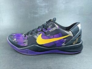 premium selection cc5a2 226c2 Image is loading RARE-Nike-KOBE-8-System-Camo-Basketball-Shoes-