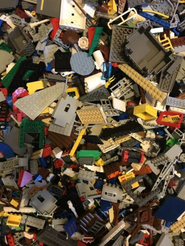 Random Bricks 1//2 Lb EXCELLENT COND Free Shipping Pirates Lego Mixed Lot City