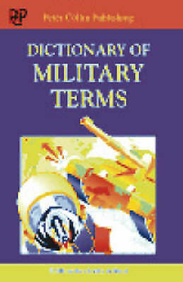 Dictionary of Military Terms-ExLibrary