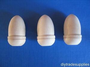 Wooden-Acorn-Cord-Pull-Bathroon-Toilet-Cloakroom-PACK-3