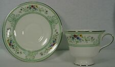 """WEDGWOOD china AGINCOURT GREEN R4471 pattern CUP & SAUCER Set cup 3"""""""