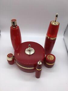 Vintage-Avon-Charisma-1968-76-set-of-6-beauty-dust-bottles