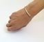 1Pcs-White-Pearl-Beads-Bangle-Gold-Plated-Chain-For-Women-Bracelet-Jewelry-Gift thumbnail 1