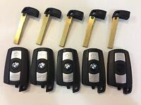KR55WK49123 BMW LOT OF 5 OEM SMART KEY LESS ENTRY REMOTE WITH UNCUT INSERT FOB