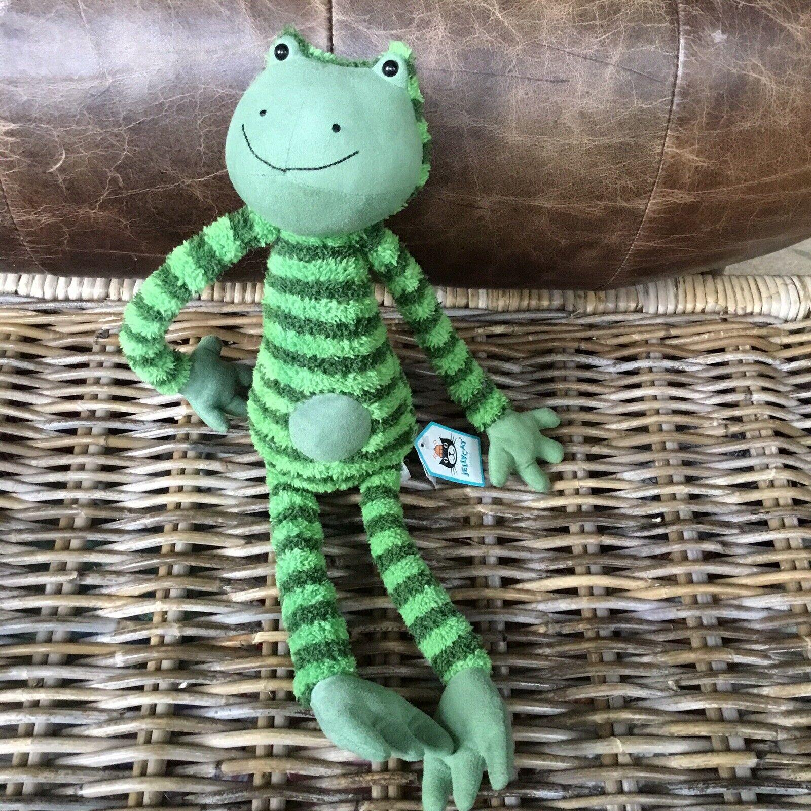 Jellyycat Fröderick Frog Collectable mjuk leksak